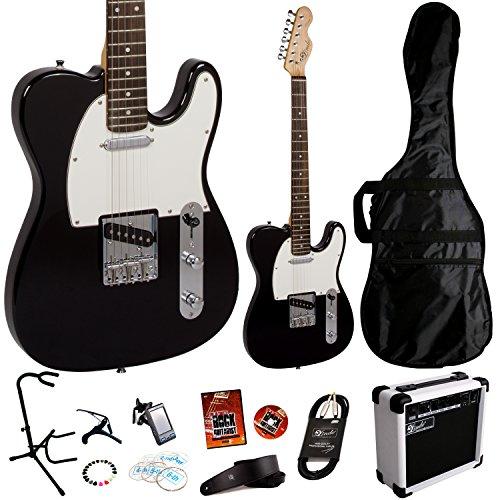 lindo-deluxe-pack-schwarz-ztl-tele-gitarre-und-zusatzlichem-sa-15-15-w-amp-package-bestehend-aus-11-