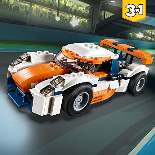 LEGO Creator - La voiture de course - 31089 - Jeu de constructio