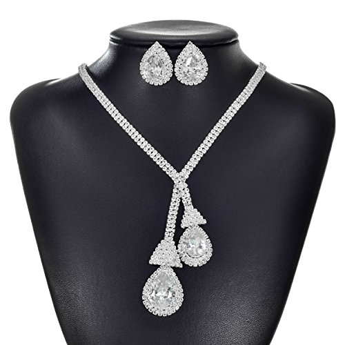 tengzhen-silver-color-rhinestone-choker-necklace-and-earrings-jewellery-sets-for-women-bridal-weddin