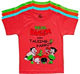 #3: KGB Multicoloured Embroidered t Shirts for Boys
