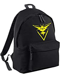 Team Instinct Pokemon Go Original Fashion Backpack. FREE DELIVERY INCLUDED.