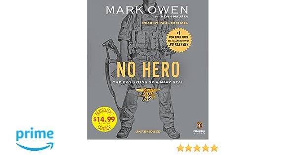 Amazon fr - No Hero: The Evolution of a Navy SEAL - Mark