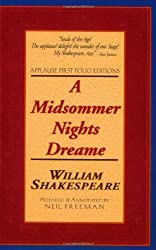 A Midsommer Nights Dream Folio Text (Paperback) (Applause Shakespeare Library Folio Texts) by William Shakespeare (2000-02-01)