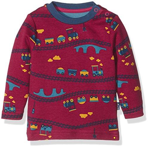 Kite Kite Baby-Jungen Poloshirt Choo t-Shirt, Rot (Red), 0-3 Monate
