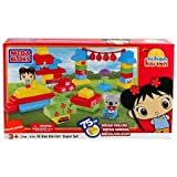 Mega Bloks Super Set Ni Hao, Kai Lan Building Blocks Set-3139 (Rare)