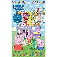 Peppa Pig Etiqueta Paradise 6 hojas de adhesivos reutilizables y una hoja de etiquetas