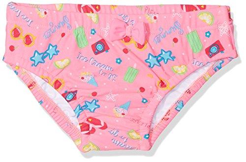 d8469251 DIMO-TEX Sun Windelbadehose UV-Schutz 50 Costume Pannolino Bimba,  Multicolore Pink,