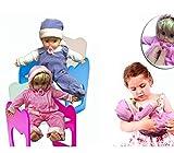 Bebé muñeco con chupete en rosa y azul - Juego y juguete infantil para niño y ni - Rosa