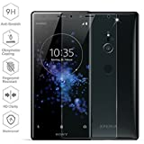 Ziaon 3D Tempered Glass Full Screen Coverage Bubble-Free Anti-Scratch Protective Film for Sony Xperia XZ2 (2018)(Edge to Edge) - Clear