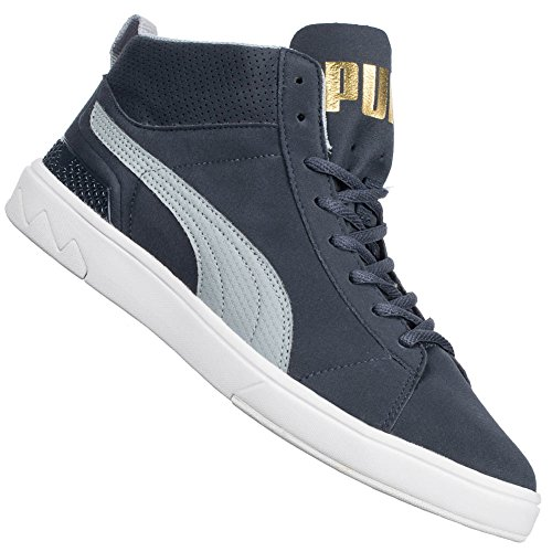 Shoes Future Suede Mid 2.0 turbolance-limoges 14/15 Puma Blue-Grey