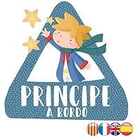 StarStick - Príncipe a bordo – triángulo adhesivo de Bebé a Bordo - Castellano