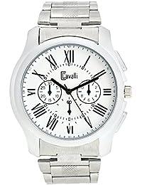 Cavalli Analogue White Dial Men's & Boy's Watch - Cs2368