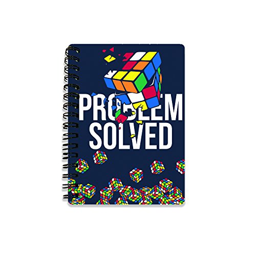 Rubiks 's rb18241 3D Notebooks, Multi, 10,5 cm x 14,5 cm