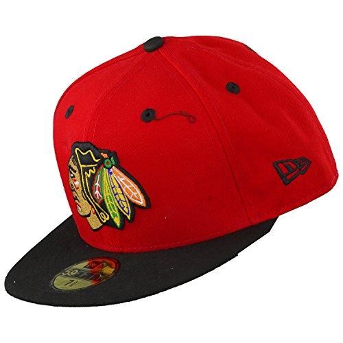 New Era NHL CHICAGO BLACKHAWKS Team Classic OTC–Herren Cap, Herren, Nhl Team Classic Chicago Blackhawks Otc, Black (Schwarz)