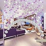 Dekor Wohnzimmer Schlafzimmer Dekor Fenster Tür Quaste String Vorhang Crystal Glass Bead Curtain (B)