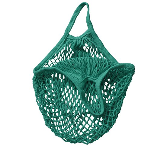 mesh-bag-organic-cotton-string-shopping-tote-net-woven-re-usable-bag-green-15inch