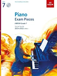 Piano Exam Pieces 2021 & 2022, ABRSM Grade 7, with CD: Selected from the 2021 & 2022