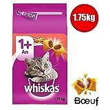 Animalerie Whiskas - Croquette Chat Boeuf 1.7Kg - Lot De 3 - Prix du Lot - Livraison Rapide en France Métropolitaine sous 3 Jours Ouverts