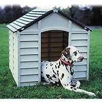 KitGarden Keny Large Caseta para Perros, Verde/Beige