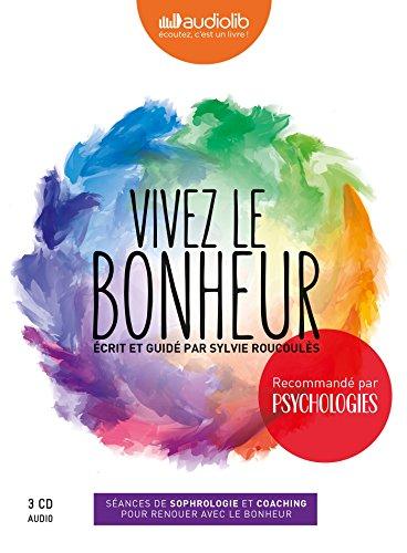 Coffret Vivez le bonheur: Livre audio 3 CD audio