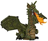 Papo 39025 Green Winged Dragon with Flame Figure