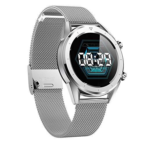 TechCode Fitness Armband mit Pulsmesser Blutdruckmessung, Fitness Tracker SchrittzählerUhr Wasserdicht IP67 Sportuhr Bluetooth Aktivitätstracker Schlafüberwachung Anruf SMS für Kinder Damen Männer