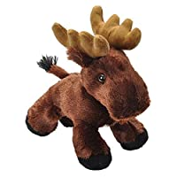 Wild Republic Stuffed Animal, Plush Toy, Gifts for Kids Toy, Moose Plush, Hug Ems 7""