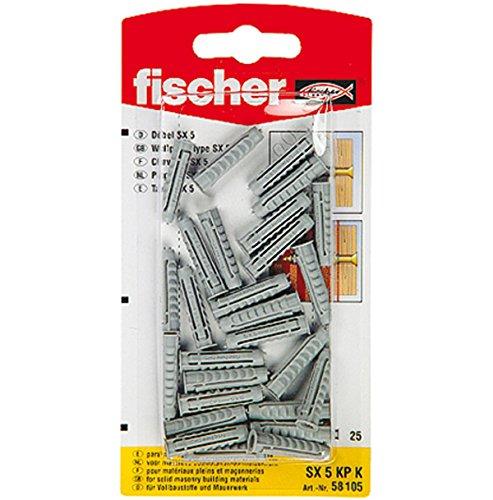 FISCHER 090885 - Blister taco nylon SX 10x50 KP NV