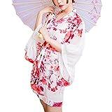 霏慕 Cos Rollenspiele Sexy Unterwäsche New Open Niedriger Kragen Japanischer Druck Kimono Sexy...