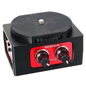 Saramonic SR-AX101 Adaptateur audio passif Double Entrées XLR pour DSLR Caméra TV02