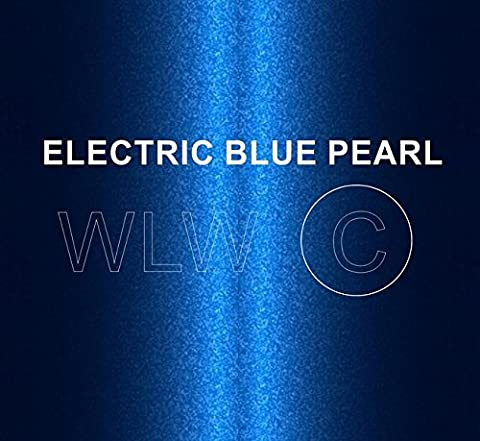 ELECTRIC BLUE PEARL Heat Resistant Paint 250ML Brush