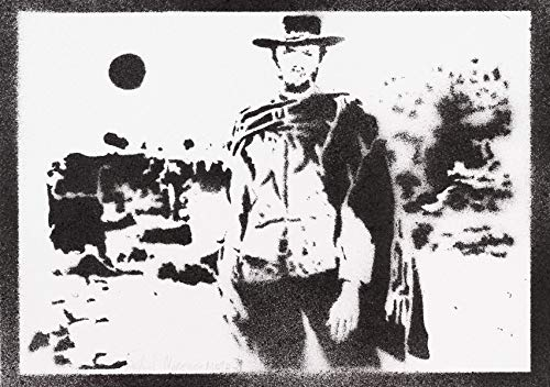 Poster Clint Eastwood Western Grafiti Hecho