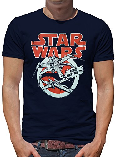 TLM Star Wars - X-Wings T-Shirt Herren S (Boba Fett Details Kostüm)