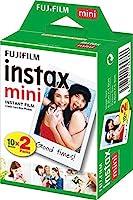 Fujifilm Instax Mini Instant Film, 2x 10 vellen, 20 vellen, wit