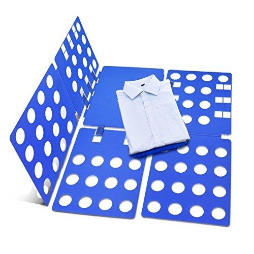 FunRun Einstellbar Wäsche Faltbrett, Kleidung Faltbrett, Kleidung Falter, Wäschefaltbrett, Hemdenfalter, Erwachsene Kleider Hosen Wäsche T-shirt Organizer, T-Shirt-Ordner Hemdenfalter Folding Board -