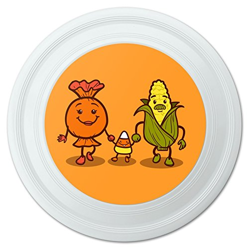 Candy Corn Familie Halloween Neuheit 22,9cm Flying Disc