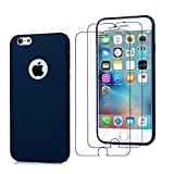 E-Mandala Housse Coque iPhone 6S Plus 6 Plus Bleu Transparent Silicone Ultra Fine...