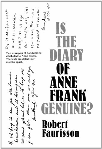 Is the Diary of Anne Frank Genuine ?