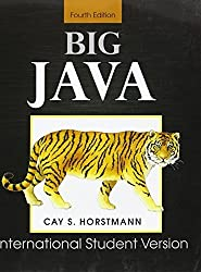Big Java: for Java 7 and 8 by Horstmann, Cay S. (2010) Paperback