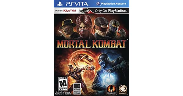Original Game Cases & Boxes Humorous Sony Playstation Vita Replacement Case And Cover Mortal Kombat