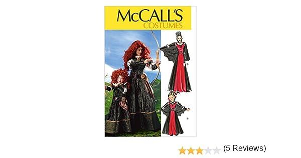 McCalls Patterns M6817 taglie varie lingua inglese colore: Bianco Cartamodello per travestimento da donna e bambina