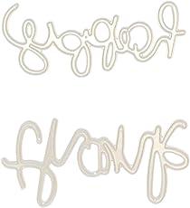 Beginfu Neue Schneeflocke Metall Stanzformen Schablonen DIY Scrapbooking Album Papierkarte Karikatur Karte Form Stanzschablonen Schneiden für Prägeschablonen Weihnachten Embossing Machine