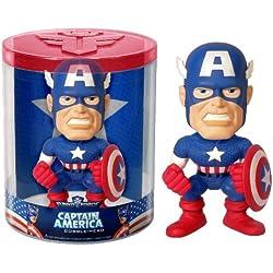 Marvel Funko Capitán América Negro Traje Funko Force Bobblehead