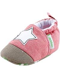 Miyanuby Scarpe Neonato Neonata Infantile Bambine Bambino Suola Morbida  Antiscivolo Scarpe da Culla Prewalker 0- fc6d672accc