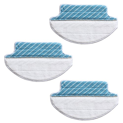 Nasse Reinigungstücher (TeKeHom Robotik d-s733Advanced Nass/Trocken Reinigungstücher für Deebot A38/M88/R95/R96/R98Zubehör Set)