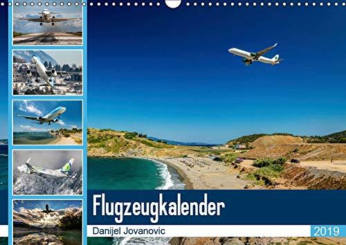 Flugzeugkalender 2019AT-Version (Wandkalender 2019 DIN A3 quer): Der Kalender für Fans der Luftfahrt (Monatskalender, 14 Seiten ) (CALVENDO Orte)