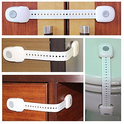 Kind Sicherheit Schlösser,Baby Sicherheit Locks 3M selbstklebend einfach zu installieren