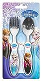 p:os 25212 Disney Frozen Besteckset, ABS/Edelstahl, 2 teilig