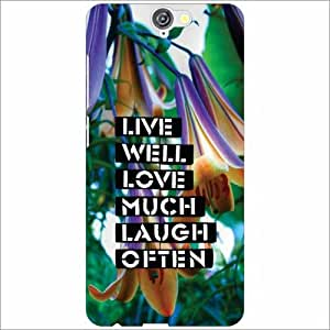 HTC One A9 Back Cover - Live Much Designer Cases