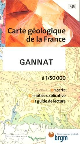 Carte géologique : Gannat